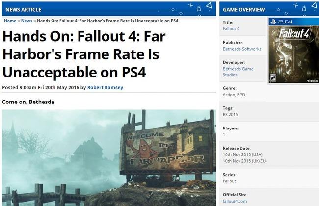 PS4 PS4.5 スペック DLC フォールアウト4に関連した画像-02