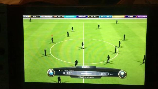ニンテンドースイッチ FIFA18 バグに関連した画像-01