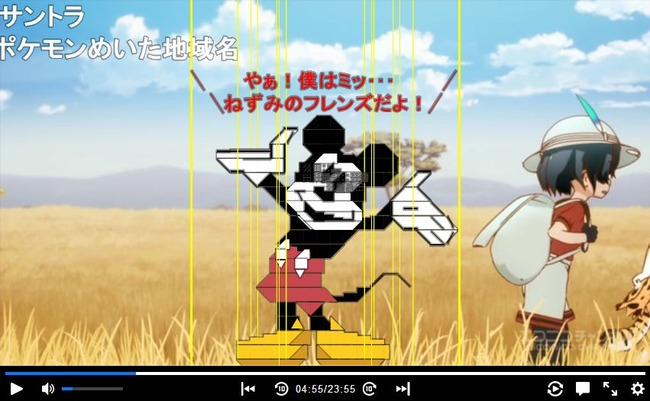 けものフレンズ ネズミのフレンズ ニコニコ動画 コメント職人に関連した画像-02