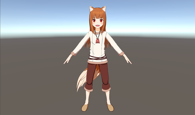 狼と香辛料 VRアニメ 3Dモデルに関連した画像-04