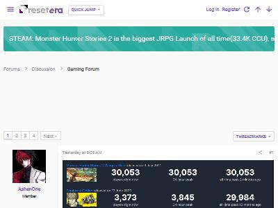 モンハン モンスターハンター ストーリーズ ストーリーズ2 史上最大 ローンチ JRPG 同時接続数 Steamに関連した画像-02