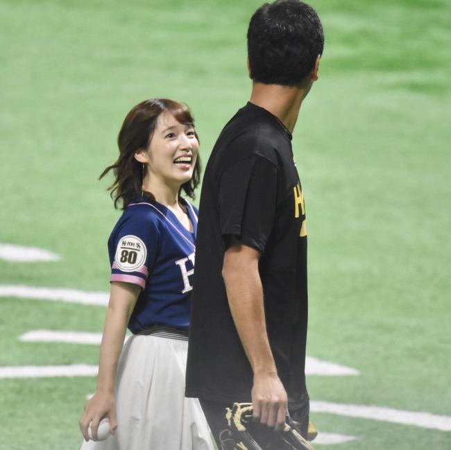 声優 内田真礼 劣等種 オタク スポーツ選手 笑顔 ソフトバンクホークスに関連した画像-03
