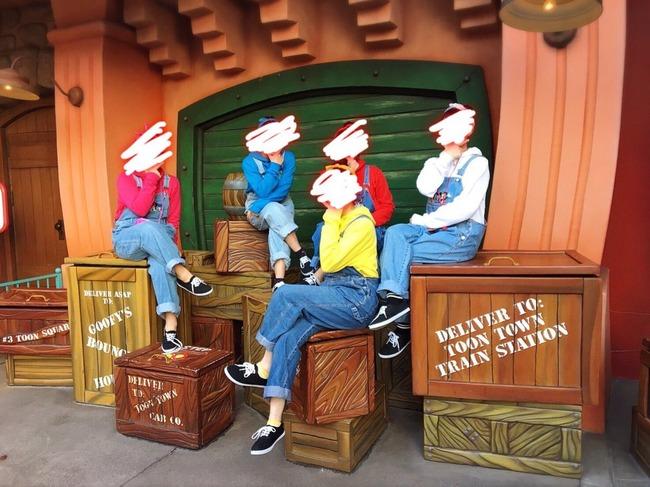 インスタ映え ディズニー 木箱 トゥーンタウンに関連した画像-03