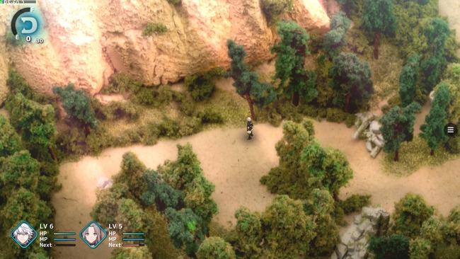 坂口博信 ファンタジアン ジオラマ RPG スクリーンショットに関連した画像-03