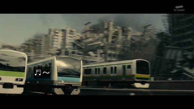 シンゴジラ シン・ゴジラ ゴジラ 地上波 無人在来線爆弾 カットに関連した画像-06