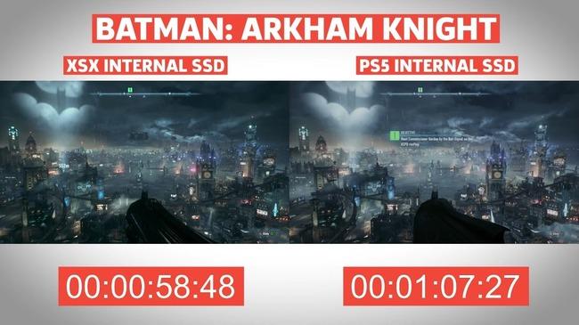PS5 XboxSX ロード時間 比較に関連した画像-06
