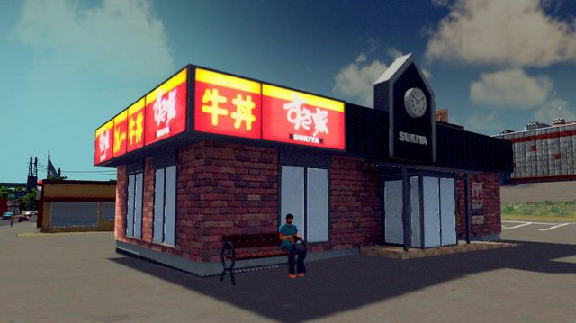 Cities: Skylines 都市開発 シミュレーションゲーム ファッションセンターしまむら セブンイレブン 吉野家 すき家 松屋 なか卯に関連した画像-04