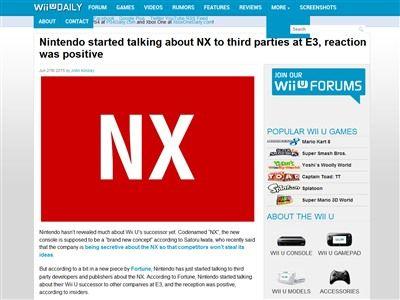 NX 任天堂 サードパーティに関連した画像-02