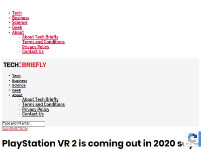 PSVR2 2020年 発売に関連した画像-02