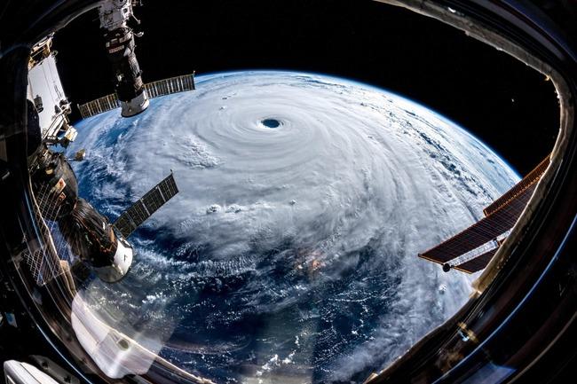 台風24号 写真 宇宙に関連した画像-03