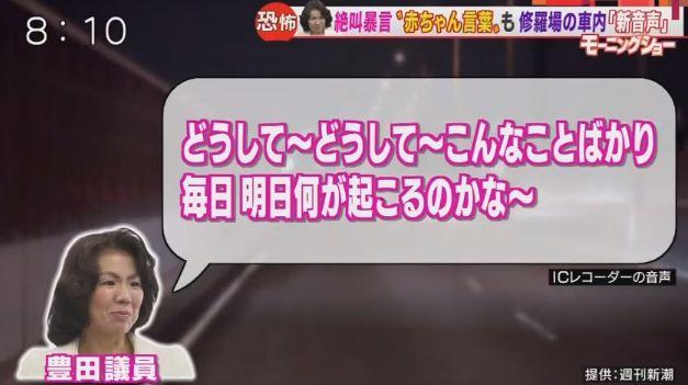 豊田真由子 赤ちゃん言葉 罵倒 動画 公開 秘書 あるんでちゅか?に関連した画像-04
