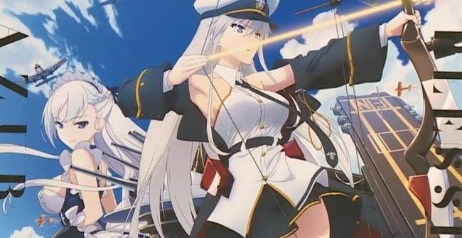 TVアニメ『アズールレーン』10月より放送決定!!