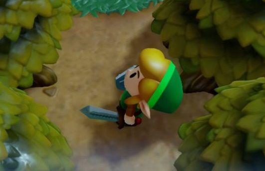 ゼルダの伝説夢をみる島 リンク 目に関連した画像-01