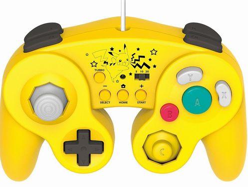 ピカチュウ WiiU クラシックコントローラーに関連した画像-01