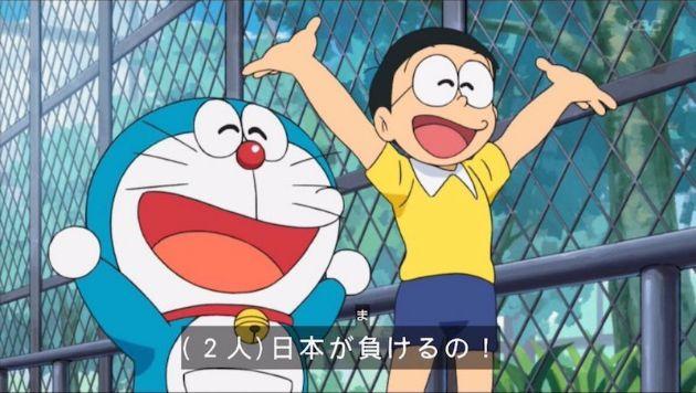 アニメ『ドラえもん』、のび太とドラえもんが笑顔で「戦争ならもうすぐ終わるよ。日本が負けるの!」→ネトウヨ激怒、中国ネットは歓喜