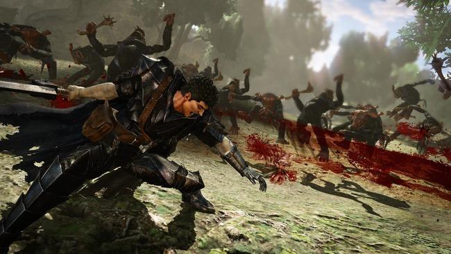 ベルセルク無双 ガッツ ドラゴン殺し 血祭り 血しぶき プレイアブル グリフィス シールケ キャスカ に関連した画像-16