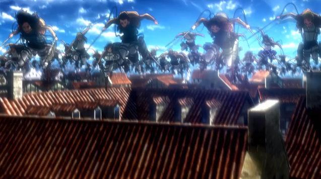 五等分の花嫁 進撃の巨人 コラボ OP 映像に関連した画像-16