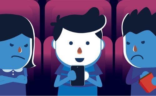 映画館 新型コロナウイルス ガイドライン スマートフォン マナーモードに関連した画像-01