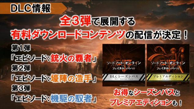 ソードアート・オンライン SAO フェイタル・バレット PS4 XboxOneに関連した画像-34