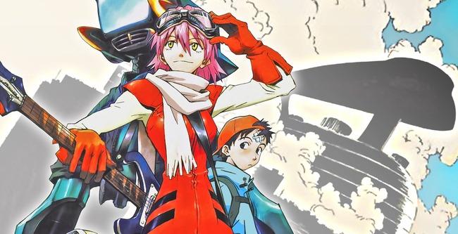 フリクリ OVA AbemaTV 一挙放送に関連した画像-01
