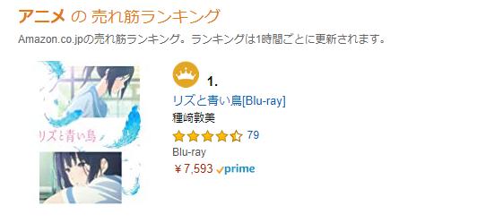 京アニ関連作品がネット通販でランキング上位に急浮上し在庫切れ状態に 何か支援したい人はまず円盤や公式グッズを買おう