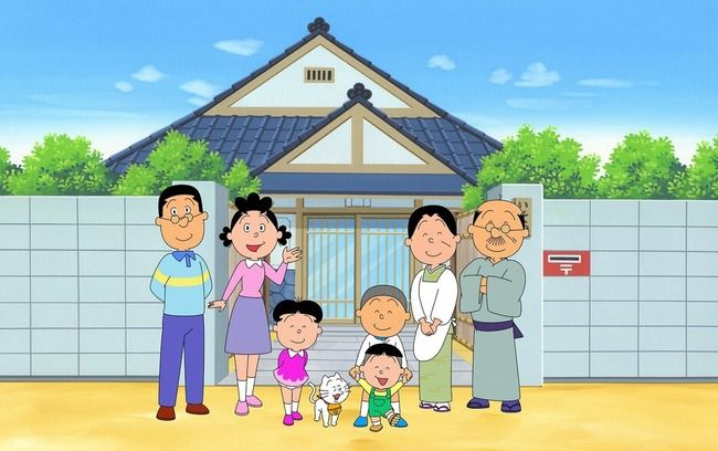 【放送開始50周年記念】『サザエさん』のスペシャルアニメ&実写ドラマが放送決定!