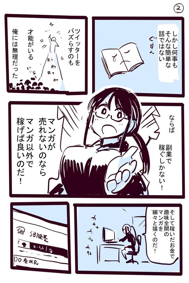 漫画家 株 副業に関連した画像-02
