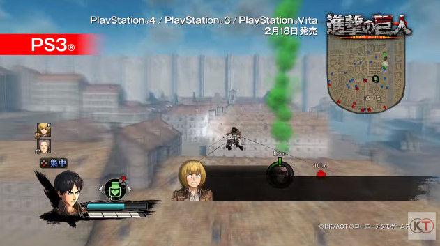 進撃の巨人 PSVita版 PS3版 グラフィックに関連した画像-16