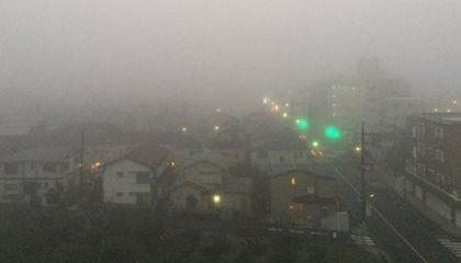 濃霧 霧 東京 都内に関連した画像-01