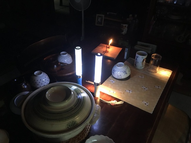 オタク サイリウム 停電 光に関連した画像-03