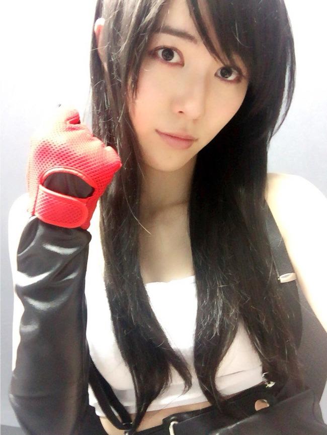 SKE48 松井珠理奈 FF7 ティファ コスプレ 披露 FF15に関連した画像-03