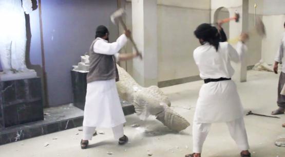 ISIL メソポタミア遺産 破壊に関連した画像-01