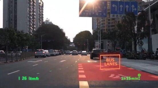 中国 車 フロントガラス 交通情報 投影 未来 SFに関連した画像-06
