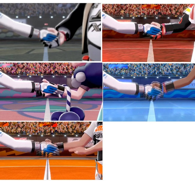ポケモン ソード・シールド サイトウ 韓国 握手 朝鮮 ジムリーダー 炎上 モーションに関連した画像-10