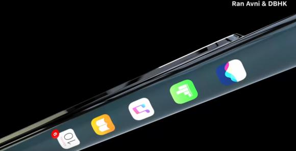 iPhone XI コンセプトイメージ ベゼルレスデザイン 側面ショートカットに関連した画像-05