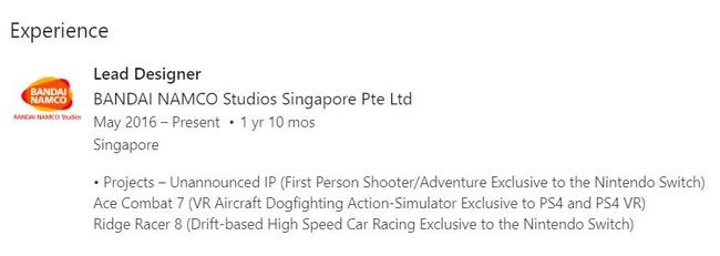 メトロイドプライム4 バンダイナムコ シンガポール リッジレーサー8 ニンテンドースイッチに関連した画像-03