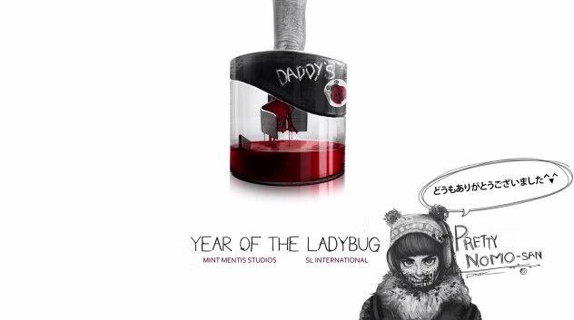 Year Of The Ladybug 動画 ホラーゲーム PVに関連した画像-28