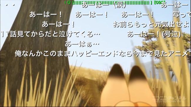 けものフレンズ 11話 鬱展開 絶望 ニコニコ動画に関連した画像-04