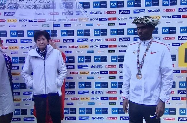 東京マラソン 小池都知事 態度に関連した画像-01