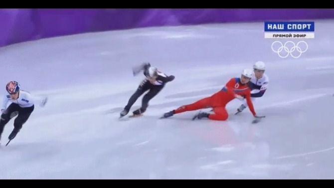 オリンピック 五輪 スピードスケート ショートトラック 北朝鮮 妨害に関連した画像-07