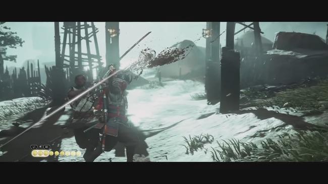 ゴーストオブツシマ 戦闘 即死  に関連した画像-01