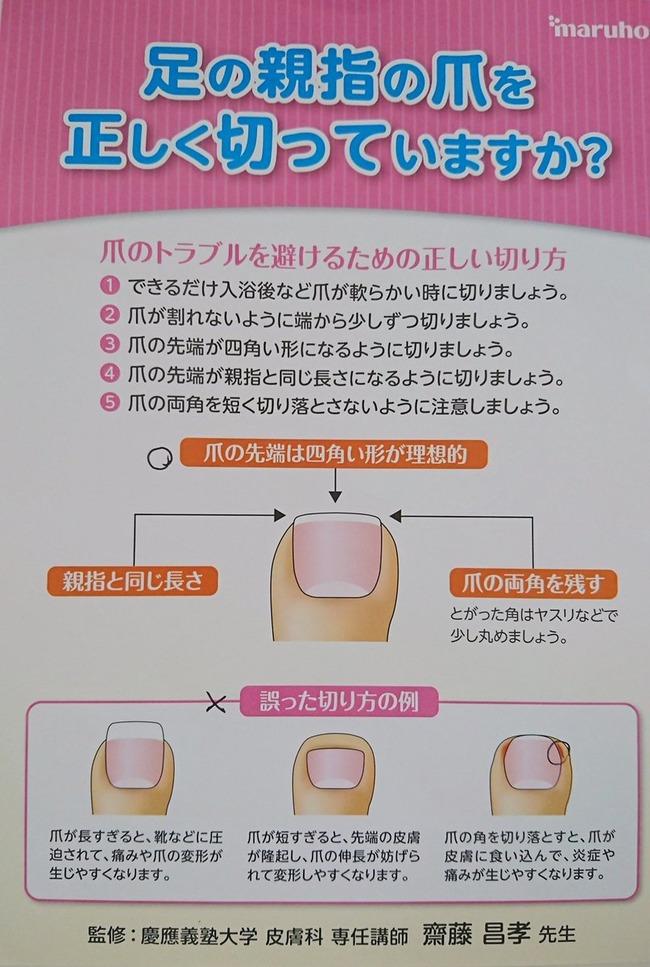 皮膚科 爪 爪切り に関連した画像-02