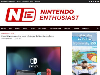 Ubisoft ニンテンドースイッチ 新作 大型 タイトル UBIに関連した画像-02
