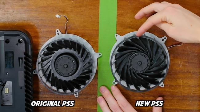 PS5 新型 旧型 冷却部 ヒートシンク 小型化 静音性に関連した画像-04