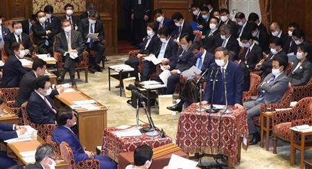 菅首相 鬼滅の刃 全集中の呼吸 国会に関連した画像-03