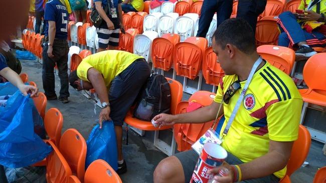 W杯 サッカー ワールドカップ コロンビア 侮辱 日本に関連した画像-03