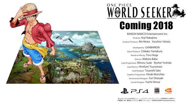 ワンピース ワールドシーカー オープンワールド PS4に関連した画像-26