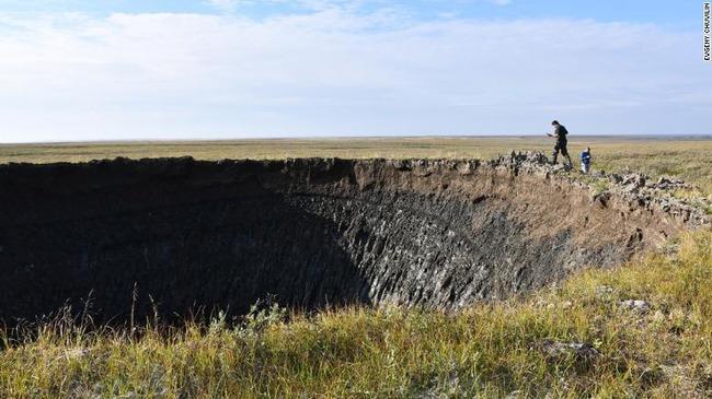 シベリア巨大クレーターに関連した画像-04