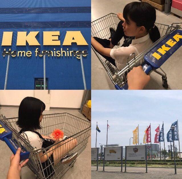 ショッピングカート IKEA インスタ ツイッター 女子高生 流行 写真に関連した画像-03