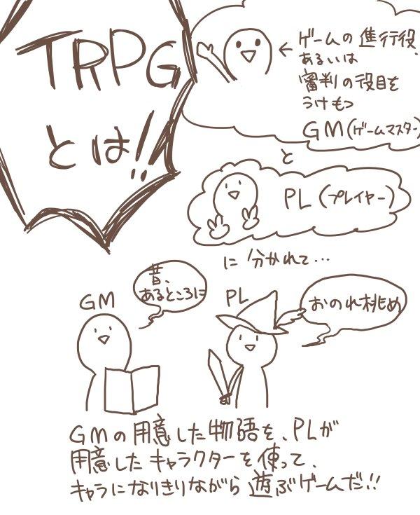 TRPG なに 説明に関連した画像-02